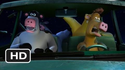 Barnyard (8 10) Movie CLIP - A Cow In Our Car! (2006) HD