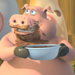 Pig, as he appears in <i><a href=