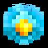 Crystal golem head