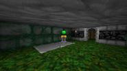 Green Orb Pedestal