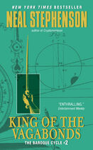 Cover of King of the Vagabonds (book) Mass PB 9780060833176