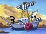 Navire b BW