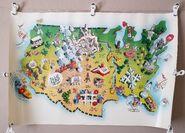 Tic Tac Dough 1990 Promotional Map