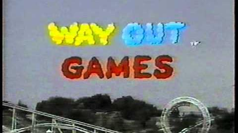 WAY OUT GAMES opening credits kid's game show CBS