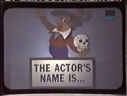 The Actor's Name Is...