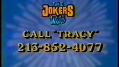 The Joker's Wild contestant & ticket plug, 1991