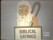 Biblical Sayings