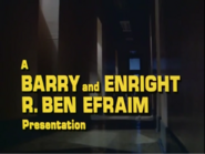 A Barry and Enright R. Ben Efraim Presentation