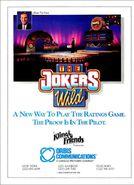 The Joker's Wild 1990 Promo ad 2
