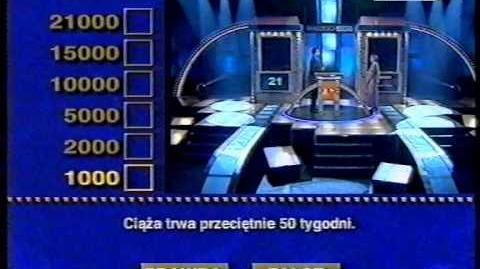 """Program Pierwszy - Fragment teleturnieju """"Dwadzieścia Jeden"""" (czerwiec 2001)"""
