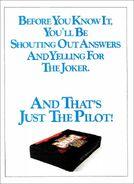 The Joker's Wild '90s Promo ad