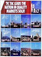 Tic Tac Dough 1990 Marketing Ad 1