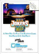The Joker's Wild 1990 '89 ad