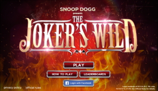 Snop Dogg Present's The Joker's Wild Online Game