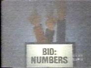 Bid Numbers