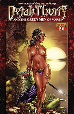 Dejah Thoris and the Green Men of Mars Issue 2