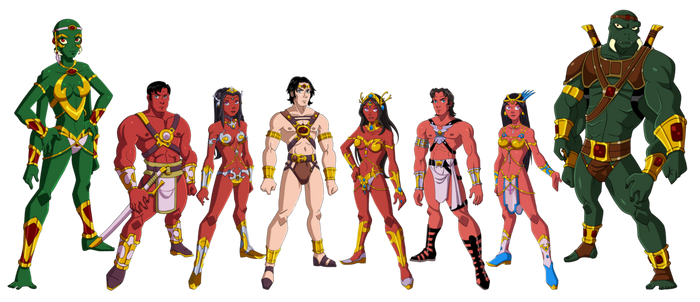 Of Barsoom by Glee-chan on DeviantArt