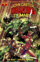 John Carter Warlord of Mars (Dynamite) 4 cover