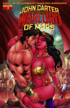 John Carter Warlord of Mars (Dynamite) 7 cover