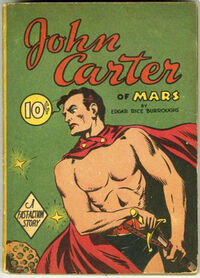 Big Little Book -nn John Carter of Mars (Dell, 1940)