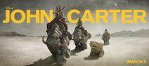 John Carter Movie - Thoats