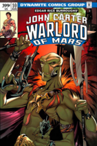 John Carter Warlord of Mars (Dynamite) 10 cover