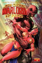 John Carter Warlord of Mars (Dynamite) 9 cover