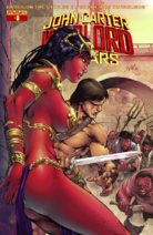 John Carter Warlord of Mars (Dynamite) 8 cover