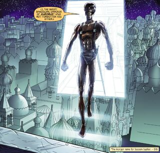 Bandolian as depicted in the John Carter, Warlord of Mars comic