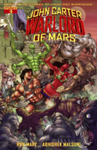 John Carter Warlord of Mars (Dynamite) 5 cover