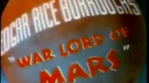 John Carter of Mars Animation (Rare) Bob Clampett