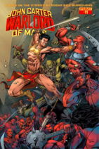 John Carter Warlord of Mars (Dynamite) 11 cover