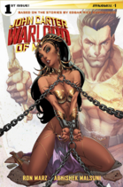 John Carter Warlord of Mars (Dynamite) 1 cover