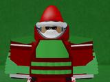 Santa Armor Suit