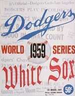 1959 World Series Program