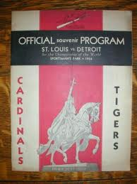 1934 World Series Program
