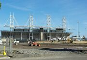 Hillsboro baseball stadium construction October 2012 full - Oregon