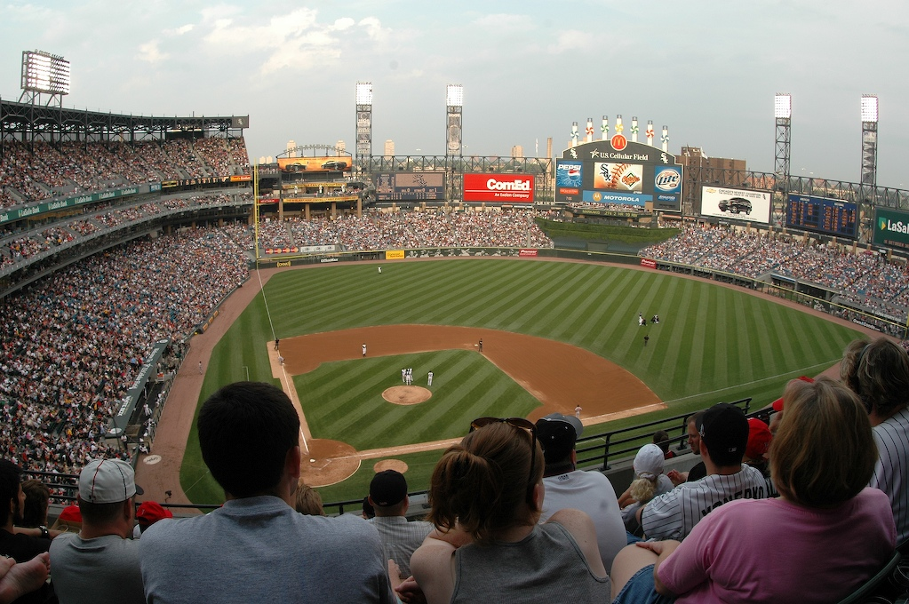 cc21dc30dfb View from the upper deck of US Cellular Field