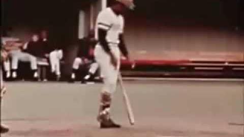 Roberto Clemente's 3,000th Hit