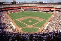 Anaheim Stadium 1991