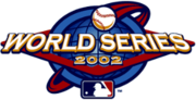 2002 World Series Logo