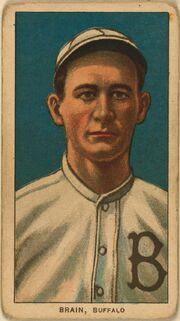 Dave Brain baseball card