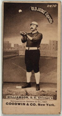 Ned Williamson Baseball Card