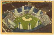 Boston Braves field postcard