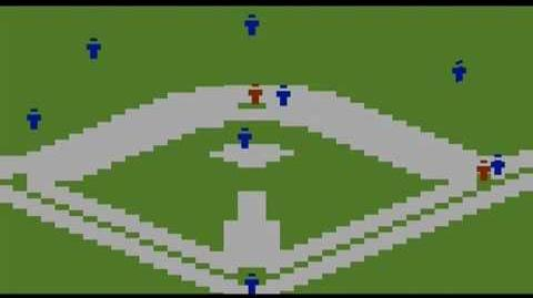 Super Challenge Baseball sur Atari 2600