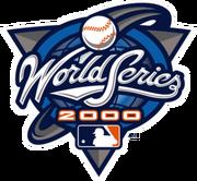 2000 World Series Logo