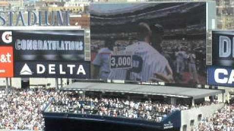Derek Jeter Hits 3,000