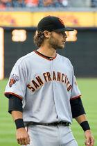 Brandon Crawford on July 15, 2011