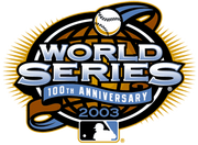 2003 World Series Logo