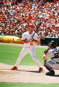 Jim Edmonds at the plate